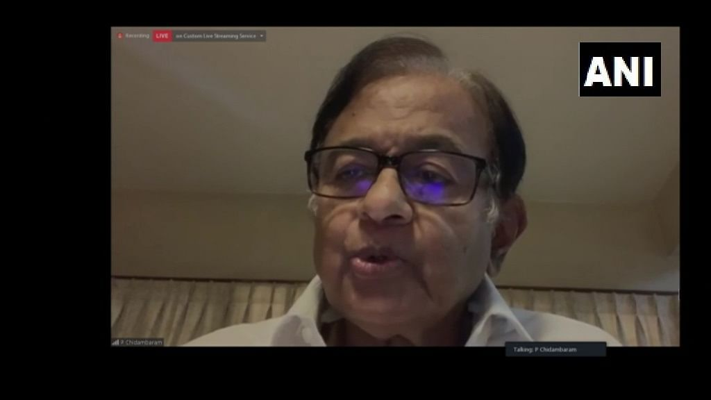 'Inept and incompetent': P Chidambaram hits out at BJP-led govt over state of Indian economy