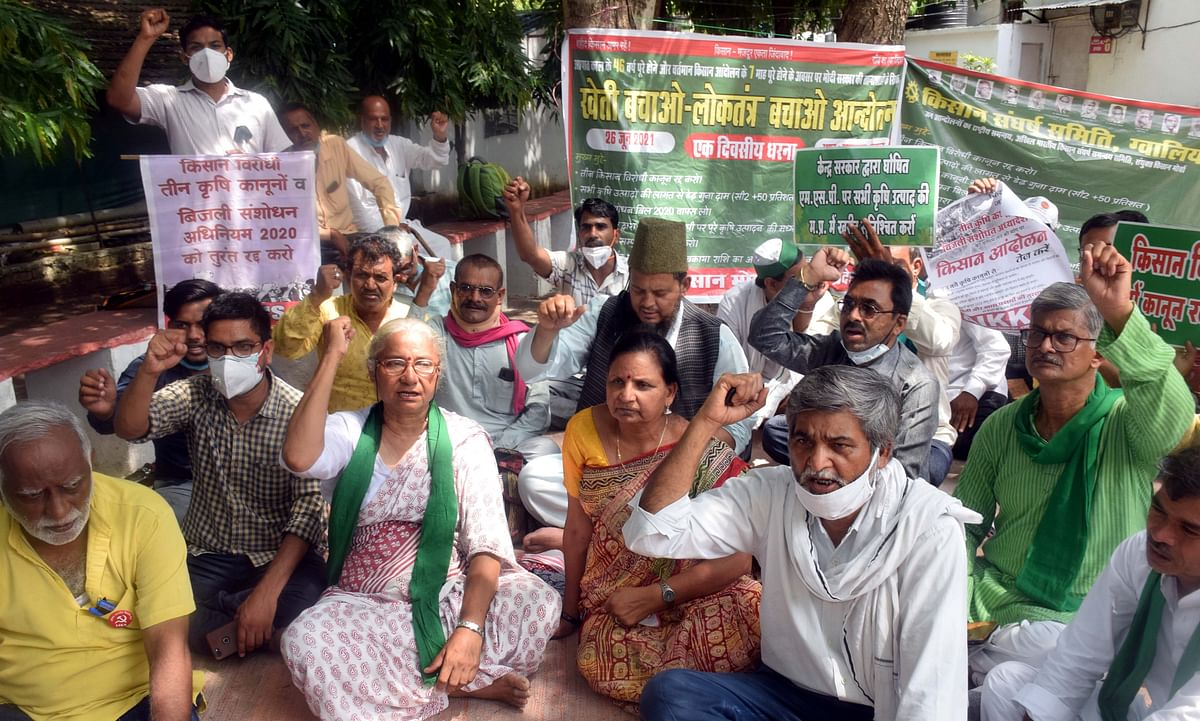 Bhopal: Police detain, then release, farm activists at three separate places