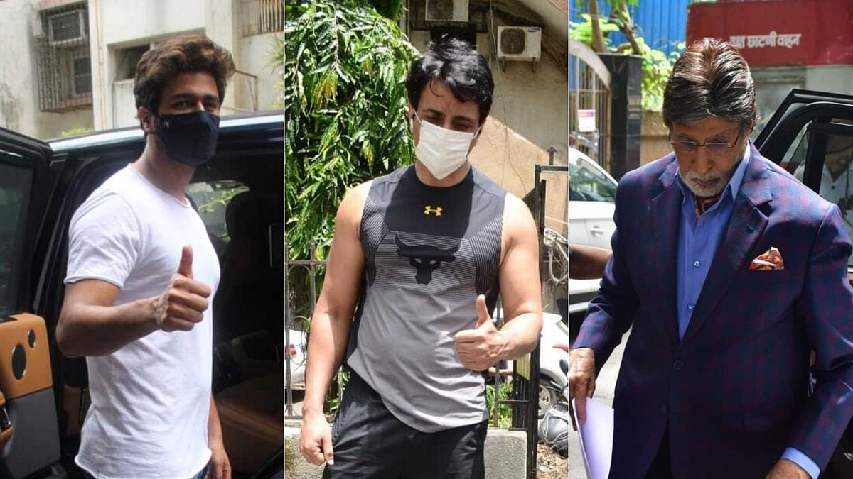 Paparazzi Files: Vicky Kaushal, Amitabh Bachchan, Sonu Sood and other B-Town celebs spotted in Mumbai