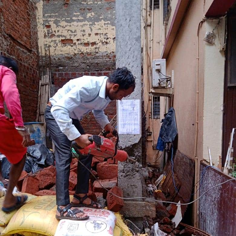 Navi Mumbai: NMMC continues demolition drive against illegal structures