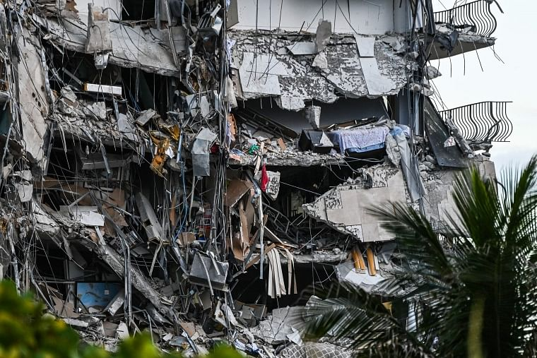 One dead as condo tower collapses partially in Miami, rescue operation still underway