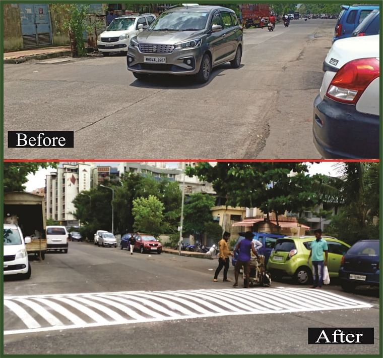 FPJ impact: MBMC starts painting stripes on unmarked speed-breakers