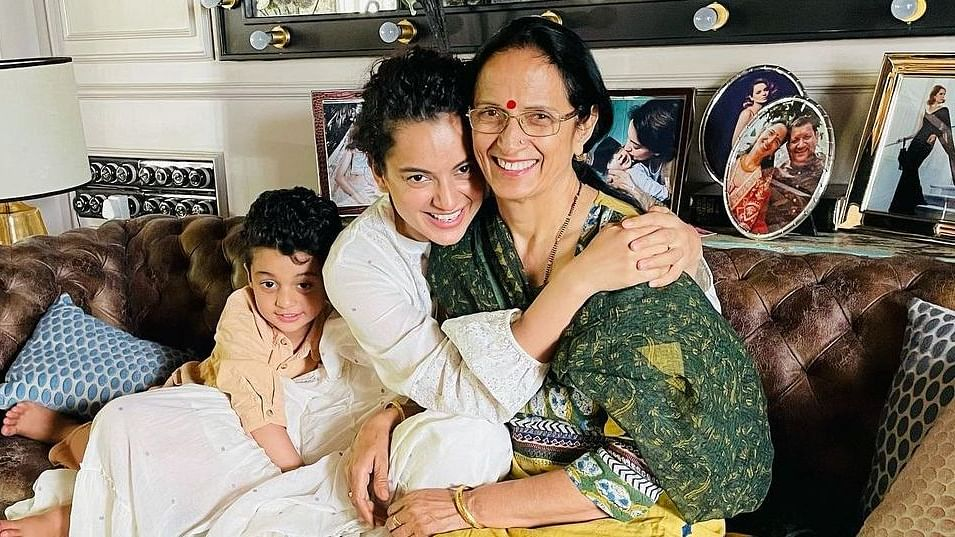 Kangana claims her mother avoided open heart surgery, beat thyroid, diabetes, and cholesterol with yoga