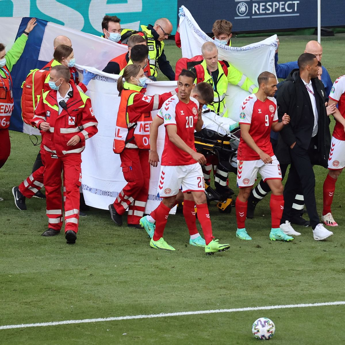 Denmark's Christian Eriksen rushed to hospital after collapse during Euro 2020 match - Here's what we know so far