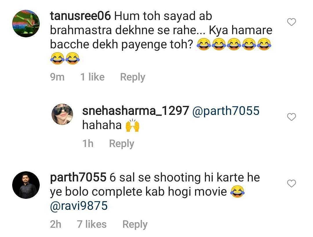Ranbir Kapoor to resume 'Brahmastra' shoot; netizens ask 'aur kitne saal'