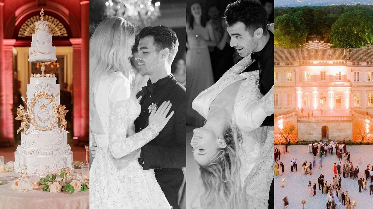 In Pics: Sophie Turner, Joe Jonas share unseen wedding pictures on their second anniversary
