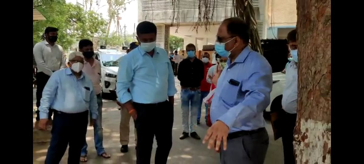 Indore: PC Sethi Hospital, Hukumchand Polyclinic to have dedicated COVID facilities, collector inspects both hospitals