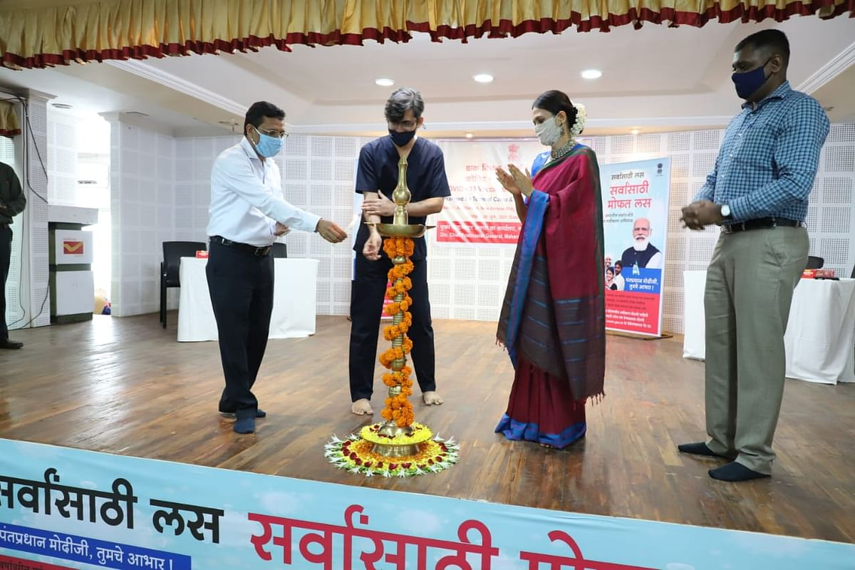 Covid-19 vaccination camp held for Postal Staff in Mumbai