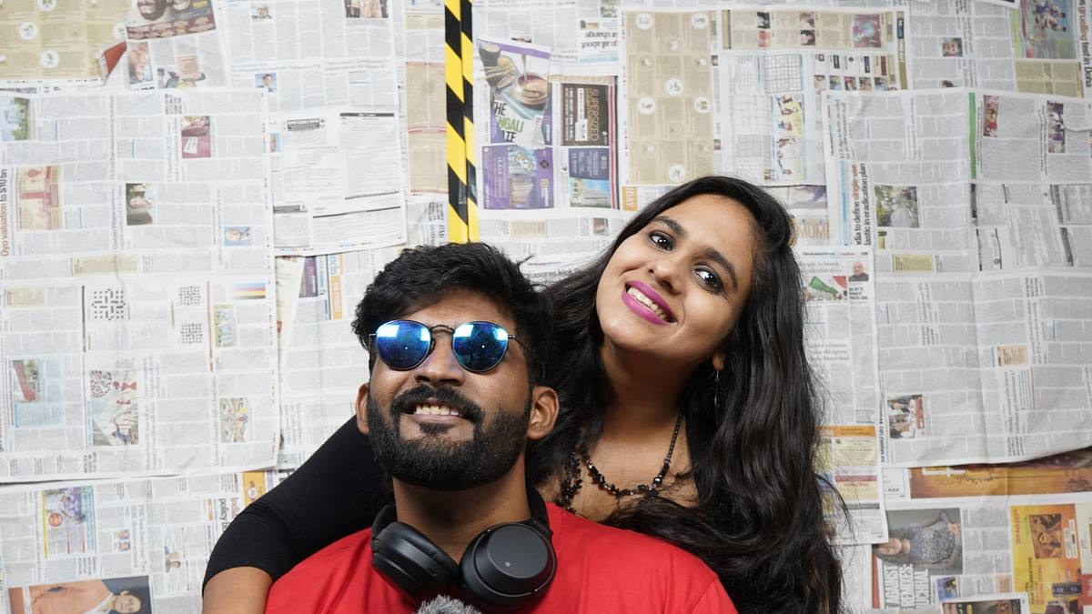 Watch Video: Content creator duo Abhi and Niyu encourage people to donate their worn-out masks and PPE kits to a better cause