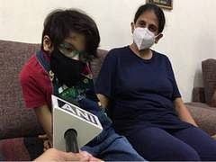 Indore: Specially-abled child wins Covid battle, has undeveloped kidney, lung and hand