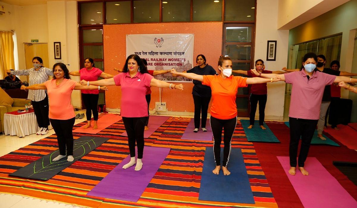 CRWWO observes International Yoga Day