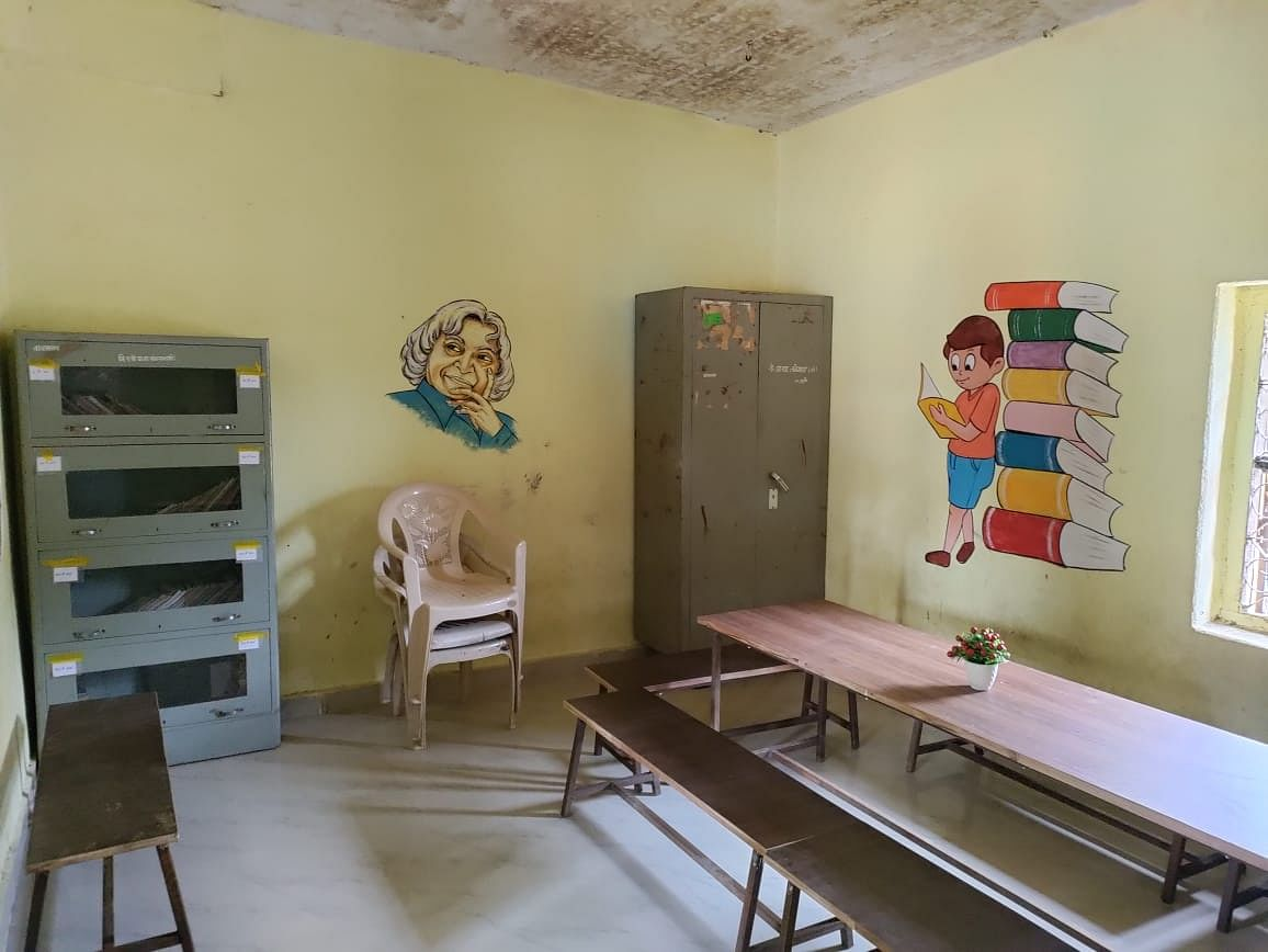 Photos: Zilla Parishad school revamped; walls, corridors serve as learning tools in Maharashtra's Latur