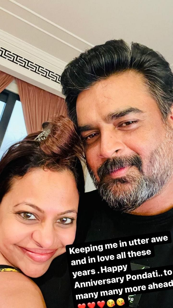 R Madhavan pens heartfelt note for wife Sarita Birje on 22nd wedding anniversary