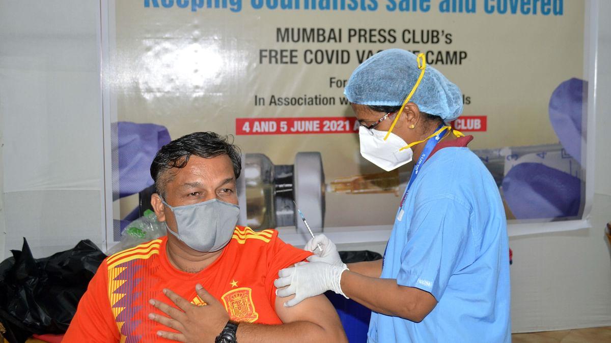Mumbai Press Club launches free vax drive for members