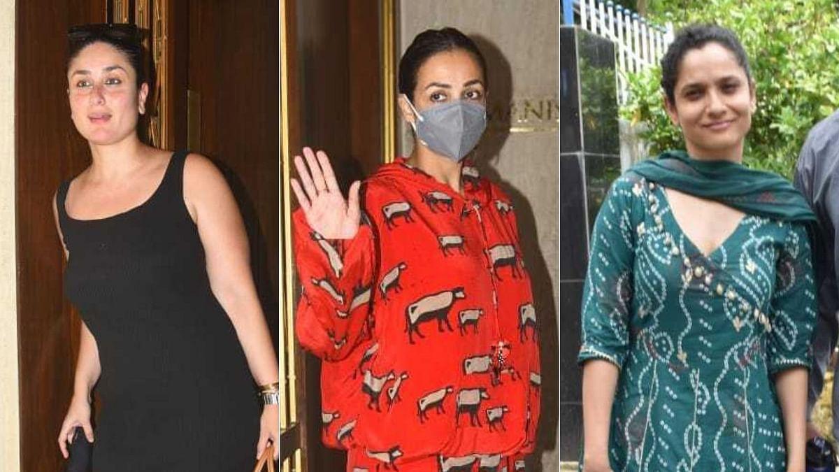 Photos: Kareena Kapoor Khan, Malaika Arora, Ankita Lokhande and other celebs spotted in Mumbai
