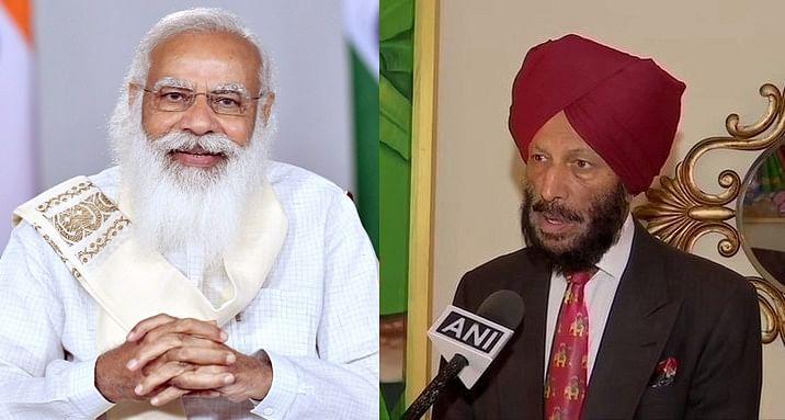PM Modi speaks to legendary sprinter Milkha Singh, enquires about his health