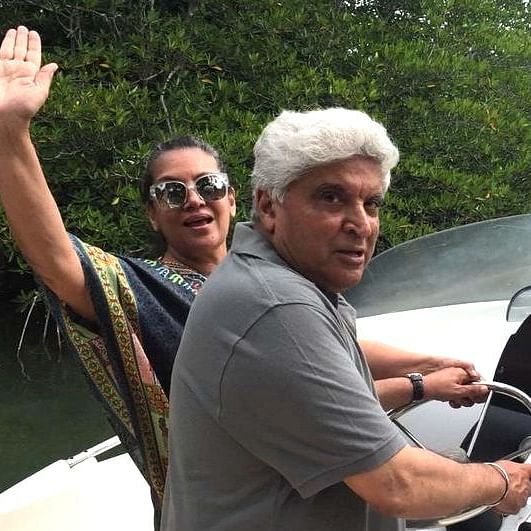 Javed Akhtar's old tweet on opening liquor shops during lockdown resurfaces after Shabana Azmi gets duped while buying alcohol