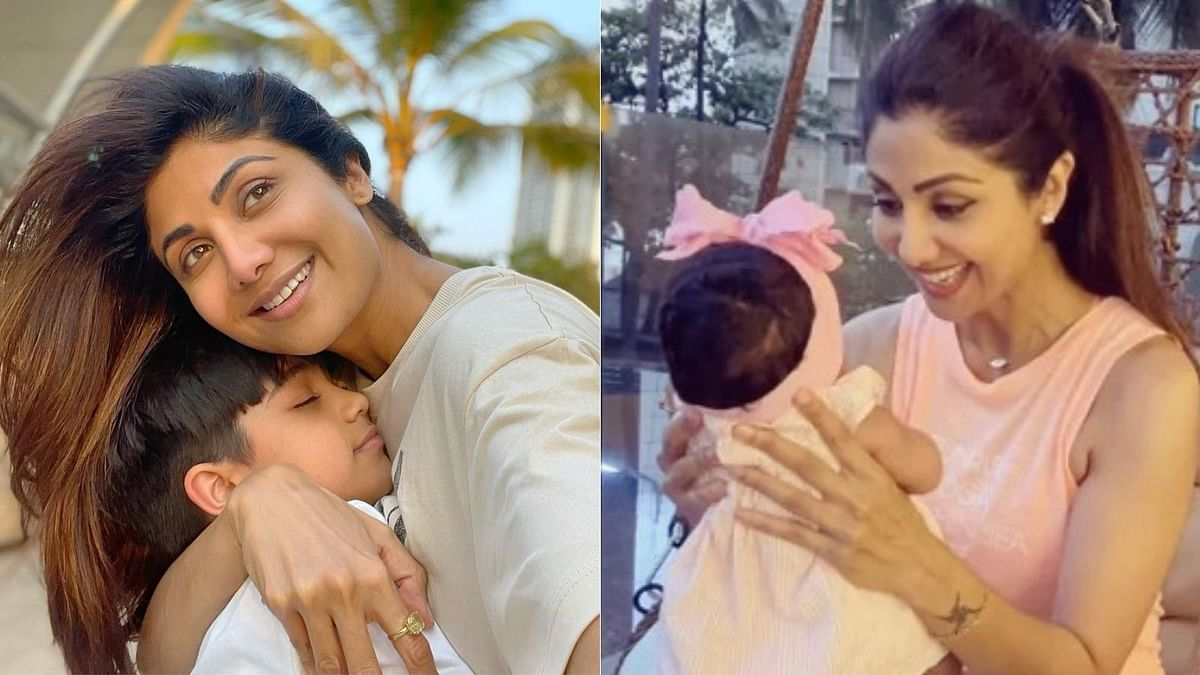 Shilpa Shetty Birthday Special: Doting mommy moments with her kids Viaan and Samisha