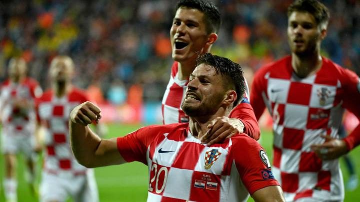 Croatia's Bruno Petkovic