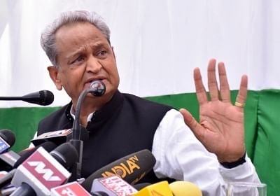Vaccination mega drive is meant to save lives and hence there is no need to show off, said Rajasthan CM Ashok Gehlot