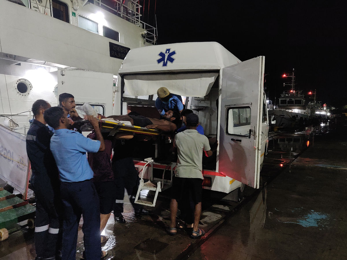 ICG rescues 9 crew members from sinking vessel off Port Blair coast