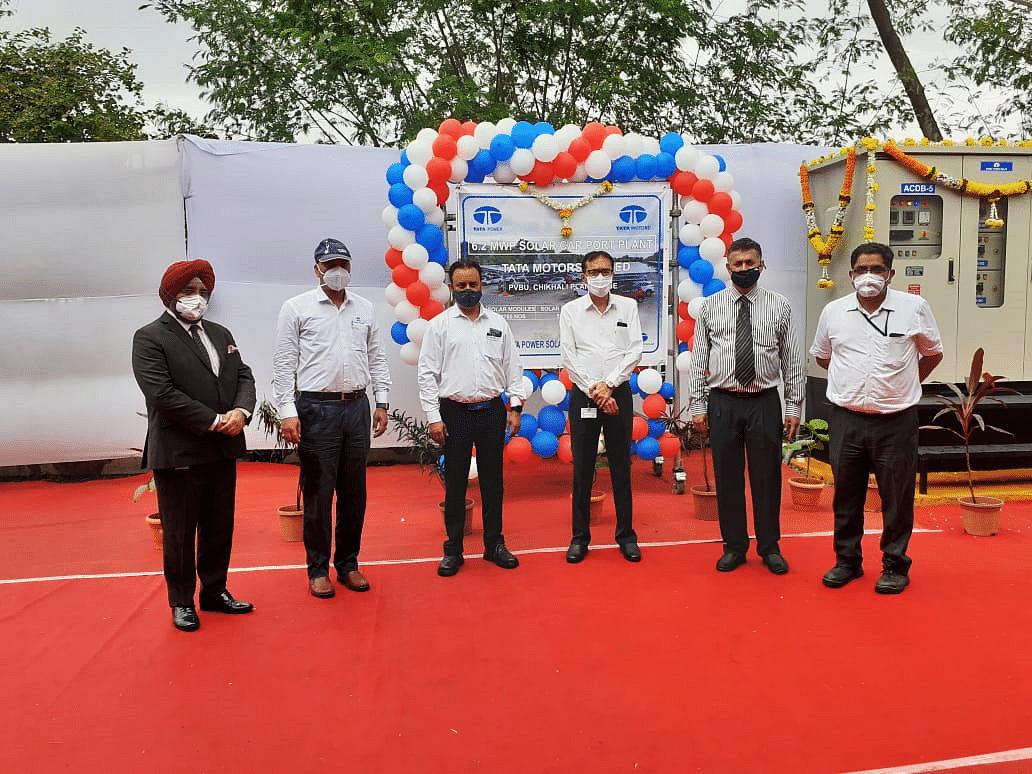 Tata Motors, Tata Power team