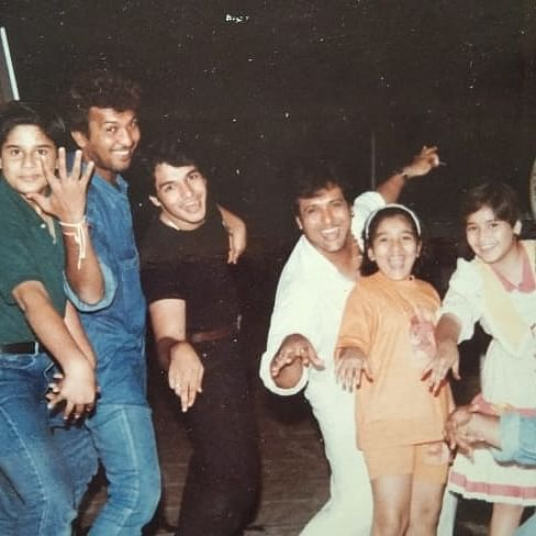 Krushna Abhishek shares unseen childhood pics with chi chi mama Govinda after years of feud