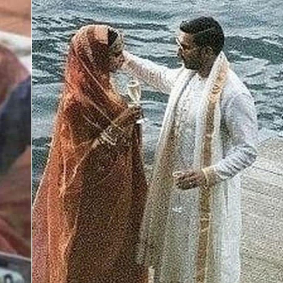 Unseen wedding pics of Deepika Padukone, Ranveer Singh raising a toast alongside Lake Como in Italy go viral