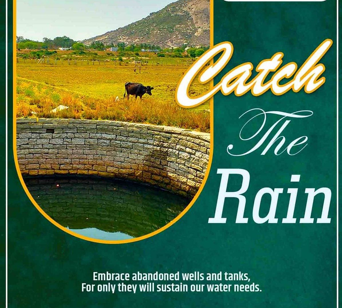 """The campaign with the theme - """"Catch the Rain where it falls, when it falls"""" - was launched by Prime Minister Narendra Modi on World Water Day on March 22 this year"""