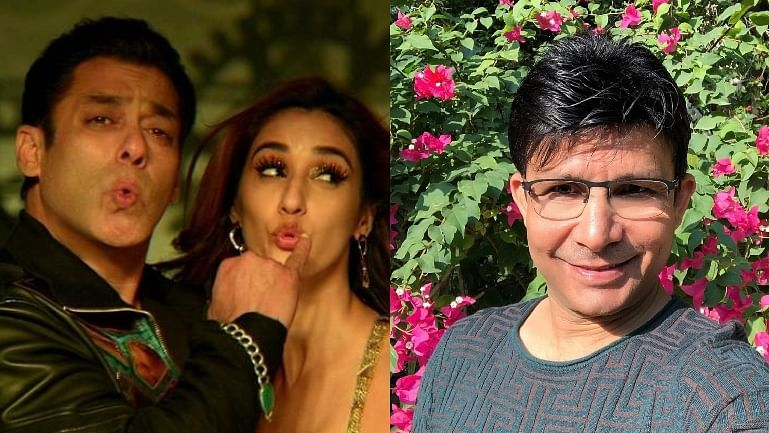 'You look so horrible with buddha actors': KRK takes a dig at Salman Khan as he wishes Disha Patani on birthday