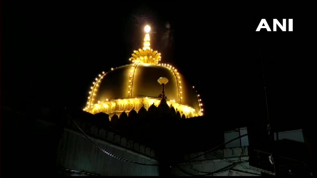 Devotees arrived at Ajmer Sharif Dargah to offer prayers as the state government permitted the reopening of religious places from Monday, June 28, 2021.