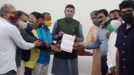 Madhya Pradesh: CAIT of Dhar submits memorandum highlighting issues of small scale industries