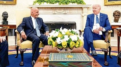 We're going to stick with you: Biden assures Afghan leaders