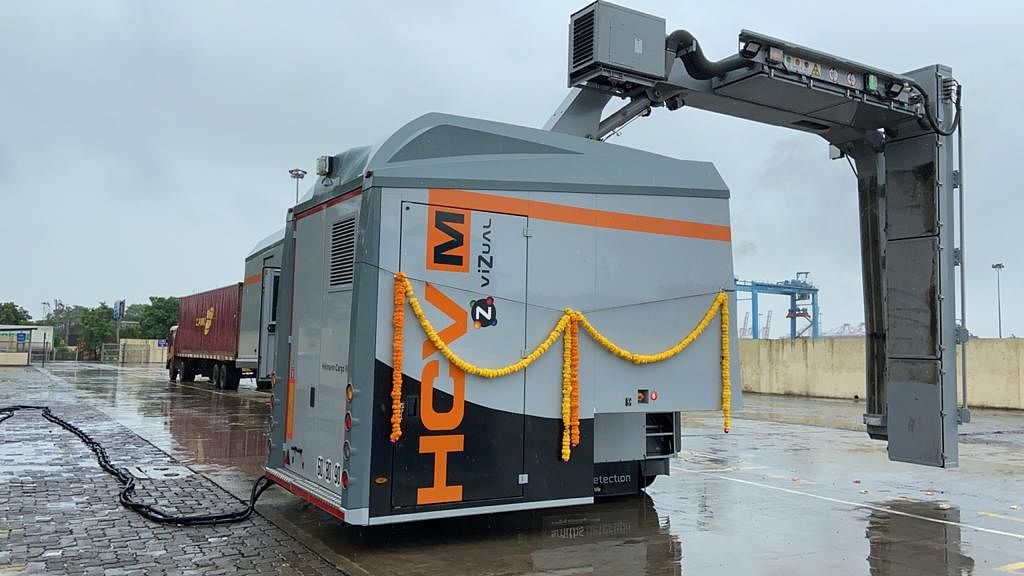 Newly installed scanners at JNPT