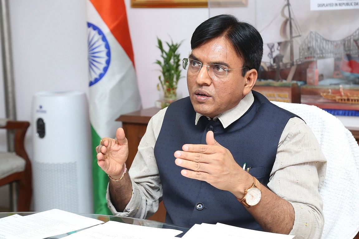 Union Minister Mansukh Mandaviya chairs 18th Meeting of the Maritime State Development Council