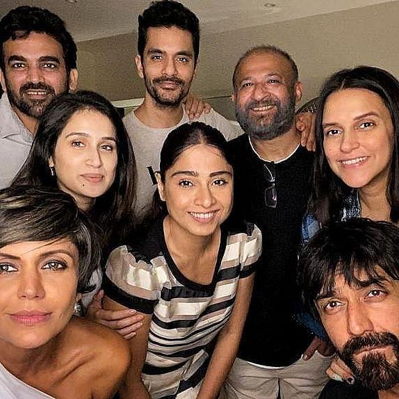Raj Kaushal's last Instagram post was a fun Sunday with Zaheer Khan, Sagarika Ghatge, Neha Dhupia, and others