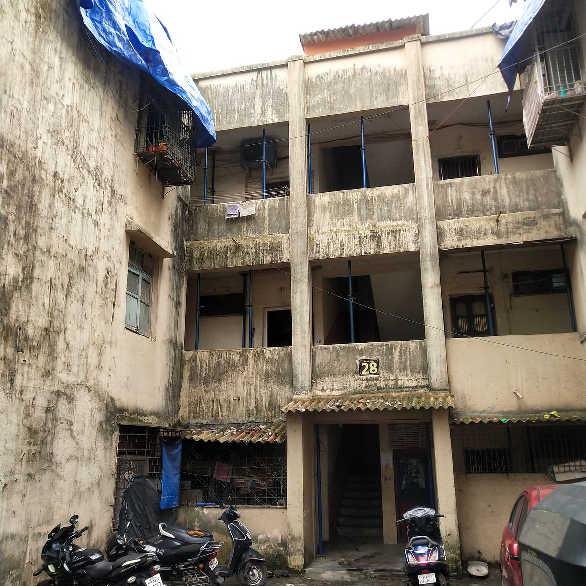 Buildings on the Brink: 60 years after moving in, residents of BMC-owned flats at at Vikroli Parksite fear homelessness