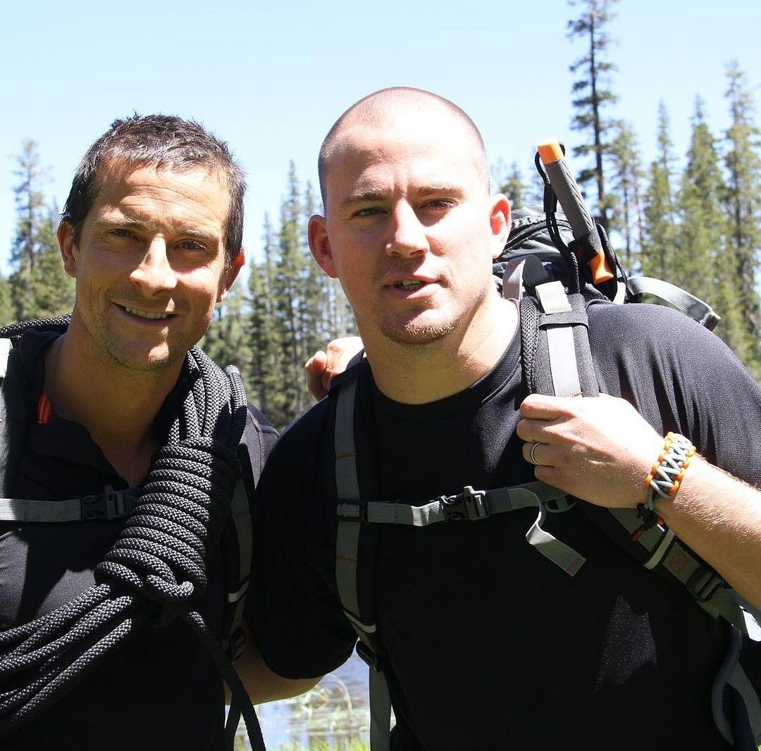 Channing Tatum and Bear Grylls