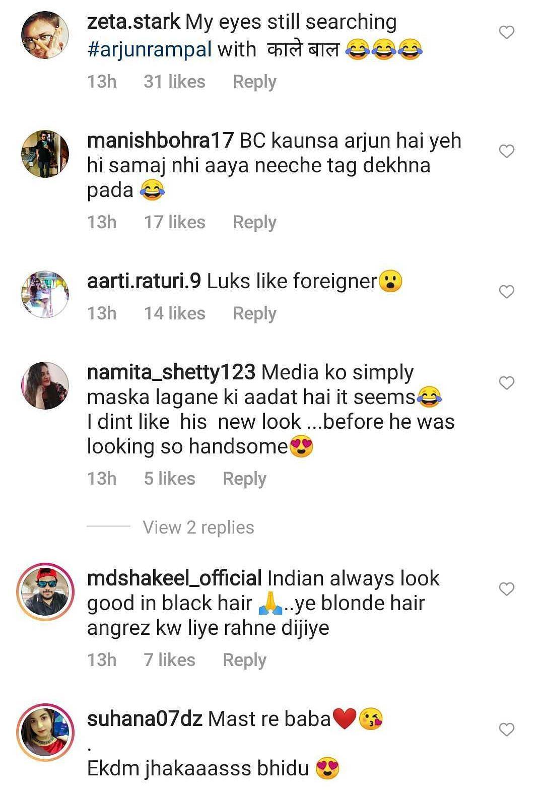 'Looks like Hollywood star': Netizens react to Arjun Rampal's platinum blonde hair - watch video