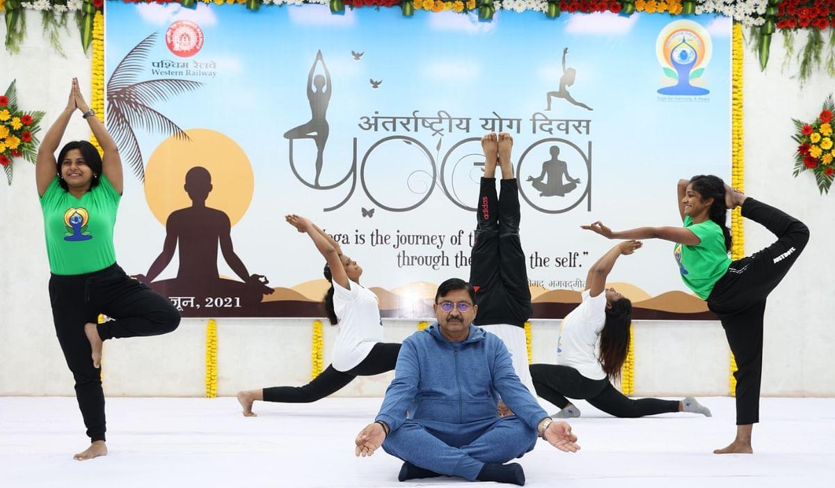Western Railway observes International Yoga Day