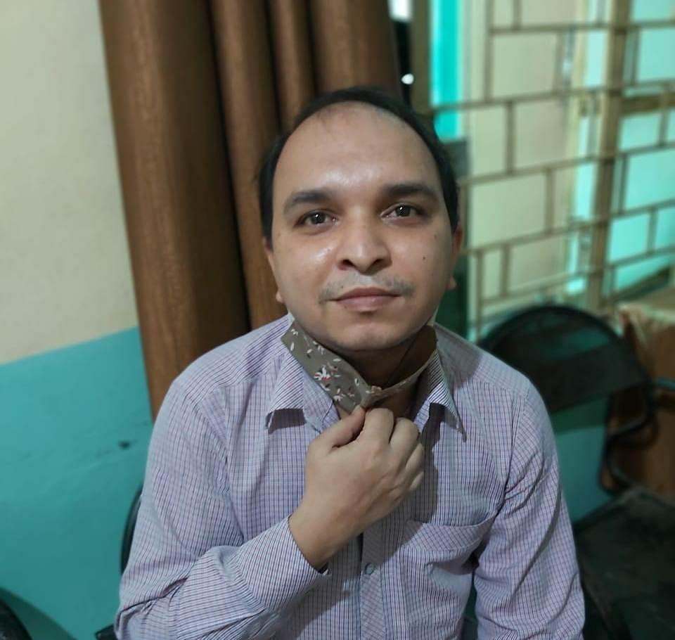 Kapil Tiwari, resident of Maulana Azad Marg in Barwani