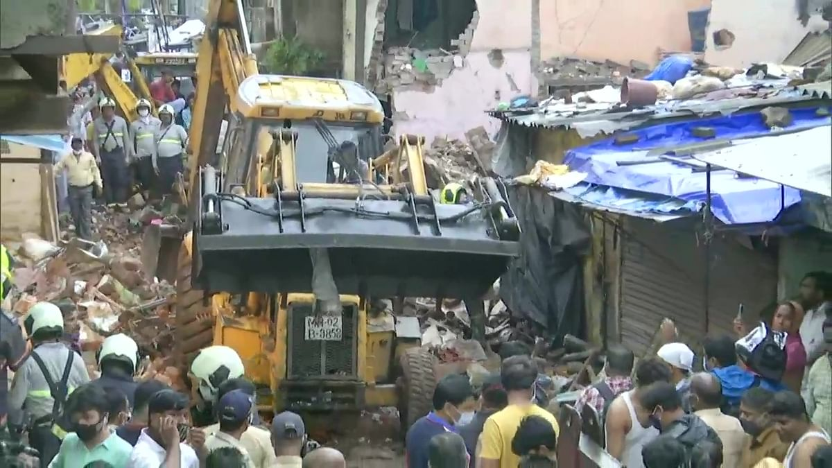 Mumbai: Union minister Piyush Goyal expresses condolences over loss of lives in Malad building collapse