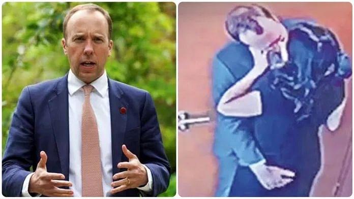 UK to probe leaked footage of health secretary's affair