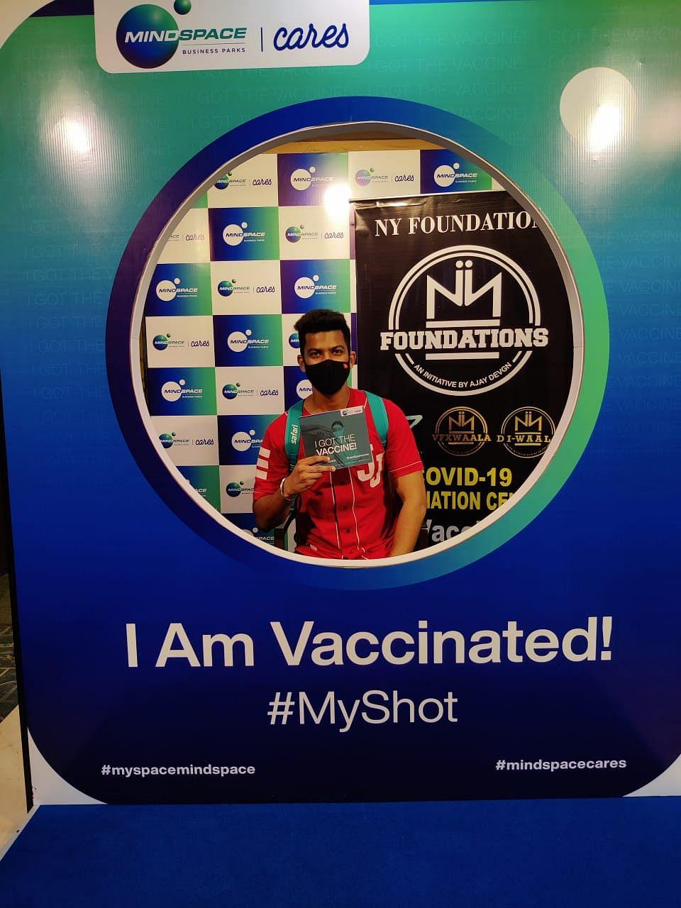 Ajay Devgn organises mass vaccination camp in Mumbai