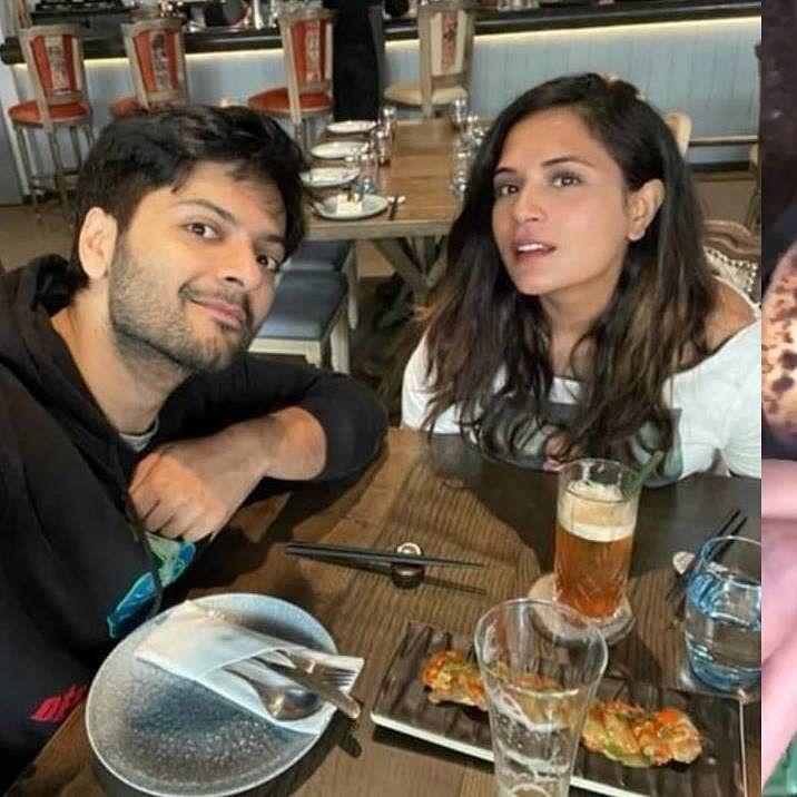 Watch: Ali Fazal reacts to Richa Chadha's burnt roti; fans say 'khani toh apko hi he'