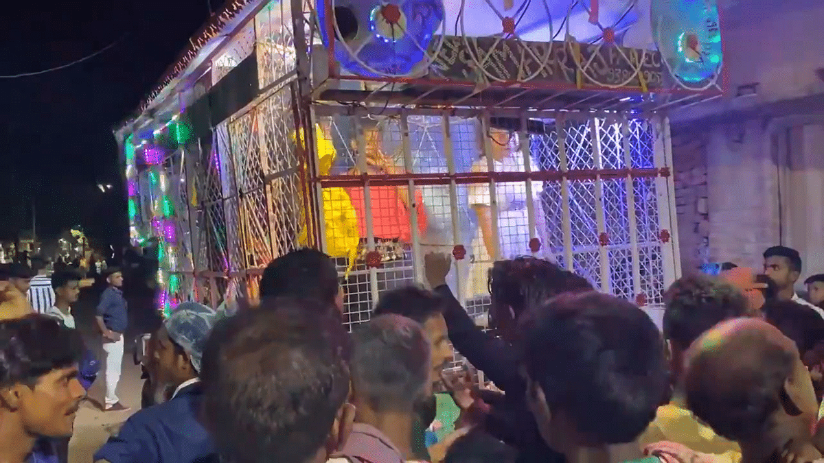 Bihar shocker: Netizens outraged as video shows women dancing in 'cage' as a group looks on