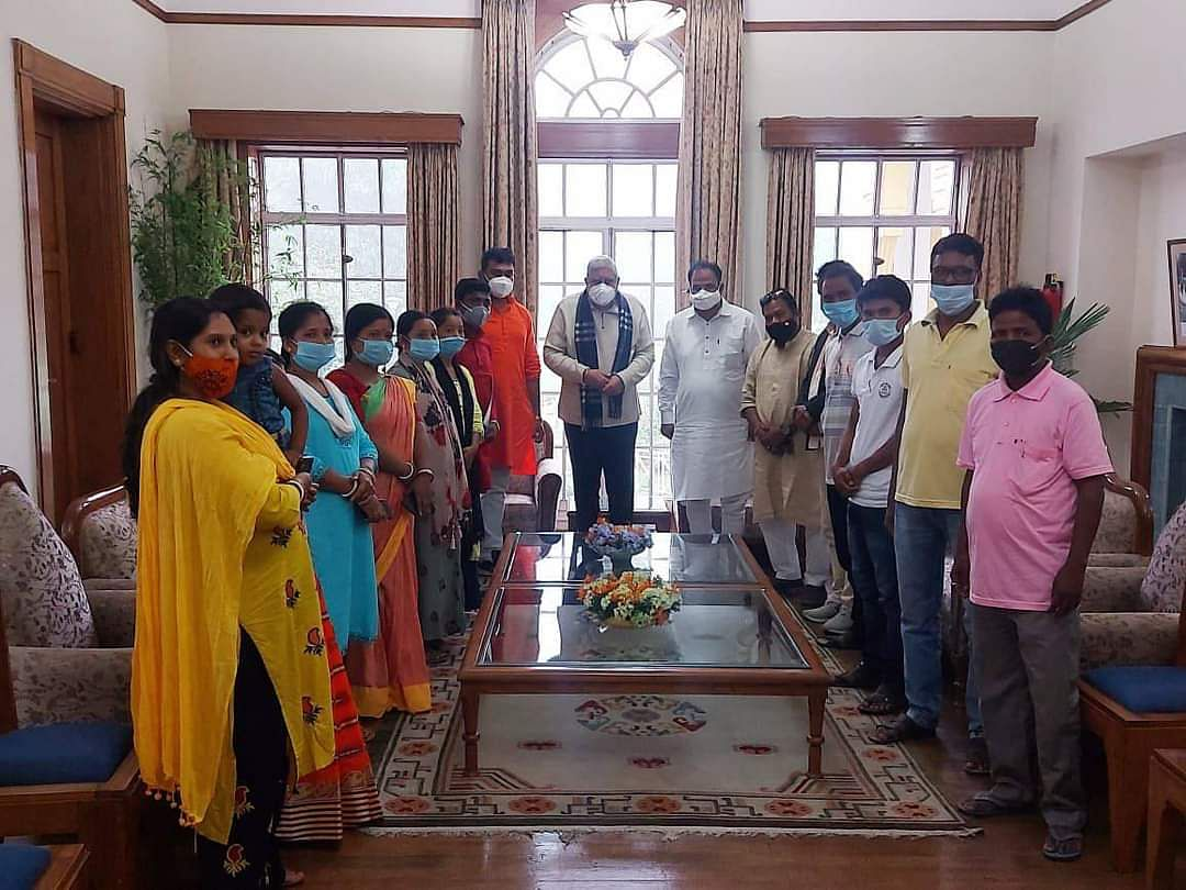 BJP's John Barla meets Guv Jagdeep Dhankhar on post-poll violence, NHRC team reaches West Bengal