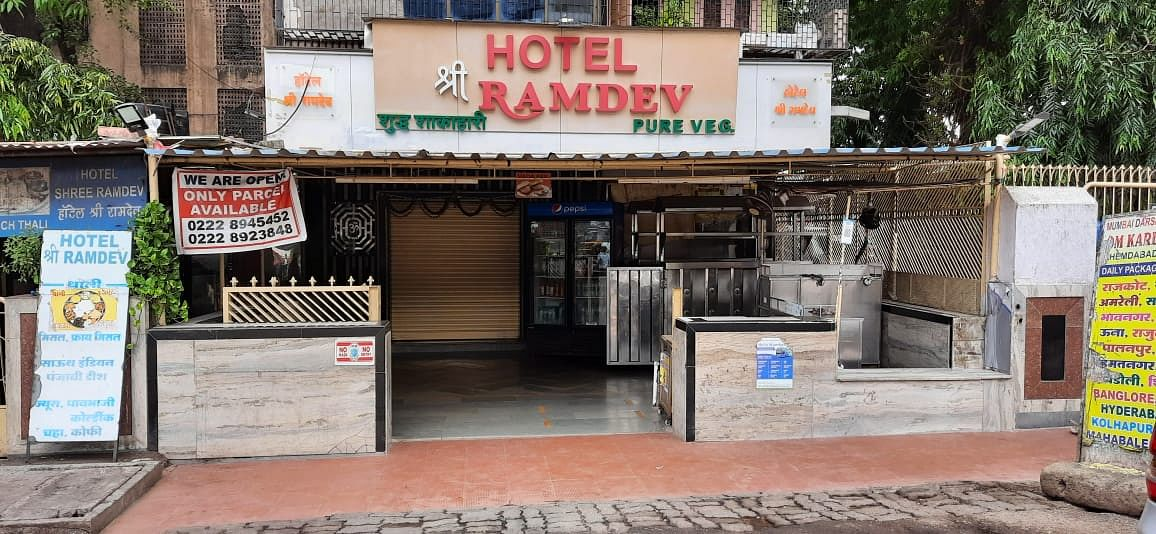 Hotels closed due to staff shortage in Mumbai's Borivali on Monday after the Maharashtra goverment announced easing of COVID-induced restrictions.