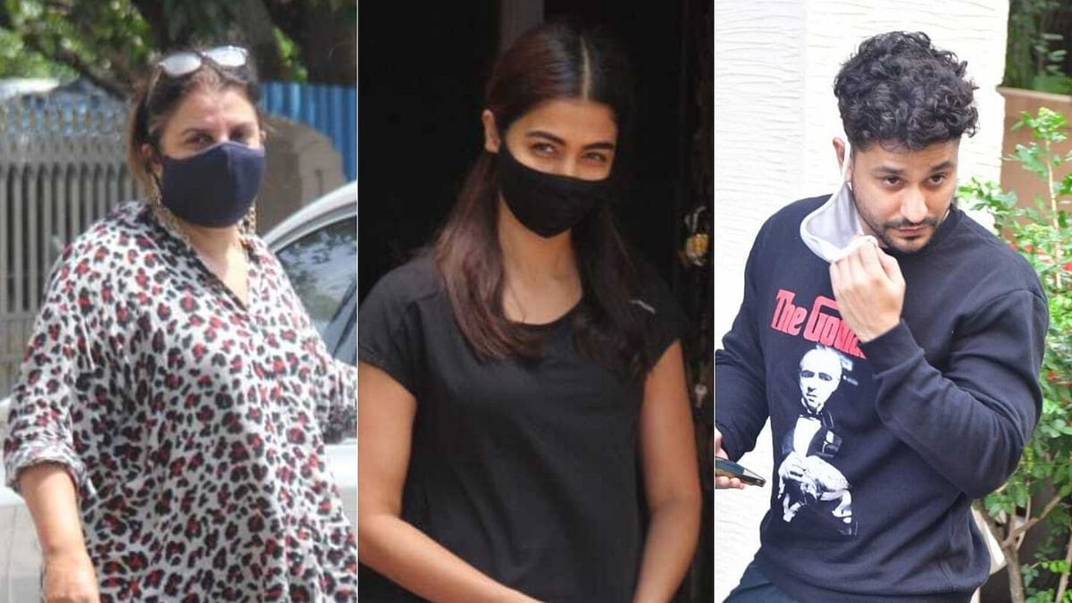 In Pics: Farah Khan, Pooja Hegde, Kunal Kemmu and other B-town celebs spotted in Mumbai