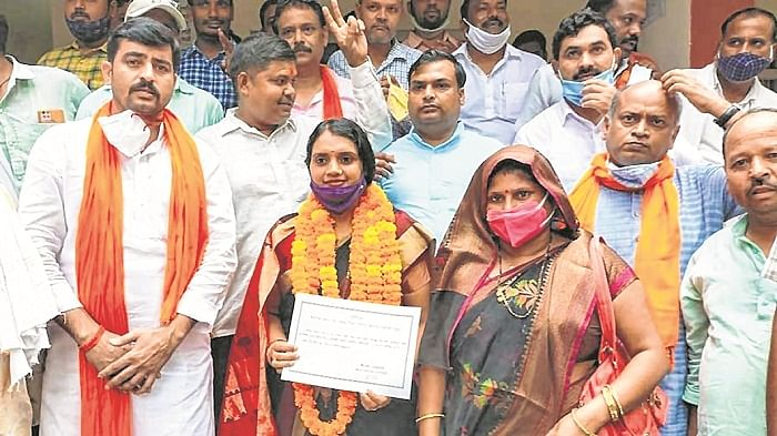 Relegated to No 3, but BJP Bags many  Zilla Panchayat chief posts 'Unopposed'